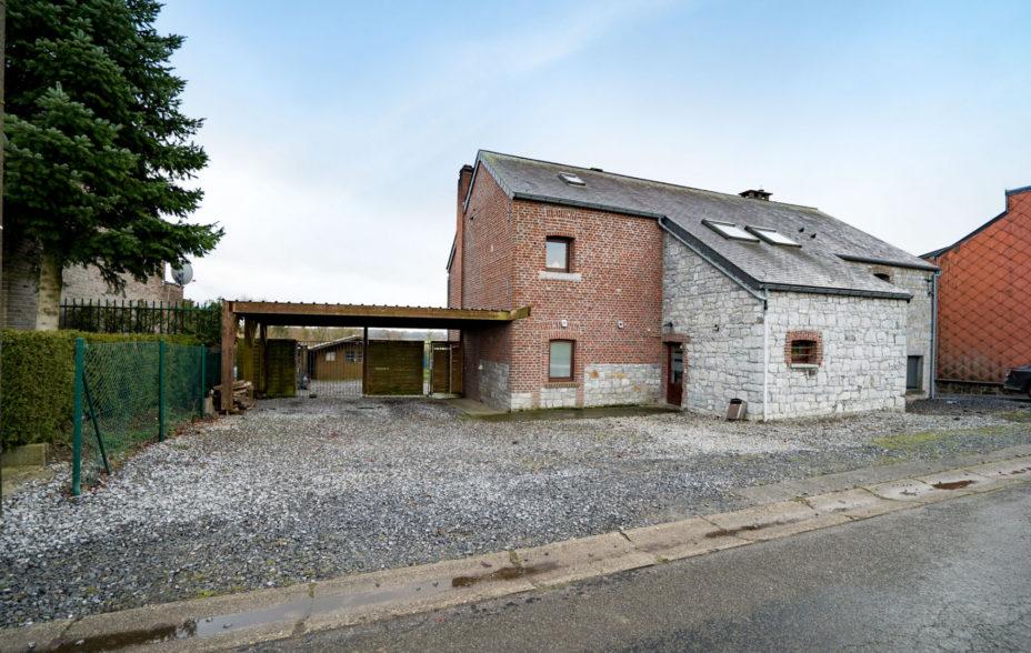 Welcome At Home - Agence immobilière à liège - Bois et Borsu - Maison à vendre - 249 000€